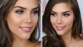 Everyday Natural Glam Makeup Tutorial/Routine | Katerina Williams