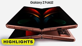 Watch Samsung's Z FOLD 2 FULL REVEAL