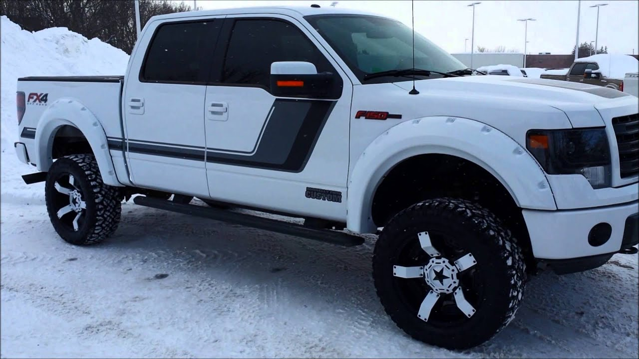 Donnelly Ford Custom Custom White Fx4 Customer Request
