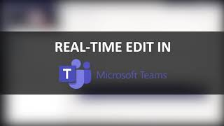 Microsoft Teams - How to share Word file and edit real-time with your colleagues during video call