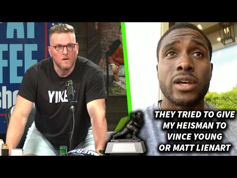 Pat McAfee Reacts To The NCAA Trying To Give Reggie Bush's Heisman Away