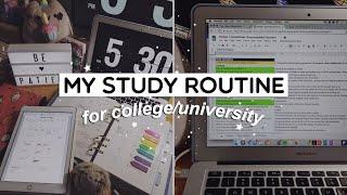 My Study Routine ✏️