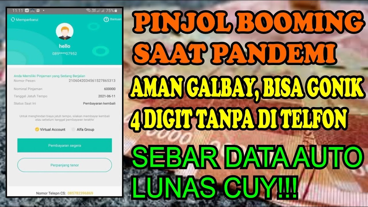Download DOMPET BOLONG💥 APLIKASI PINJOL LANGSUNG CAIR BISA GONIK - PINJOL VIRAL!!!