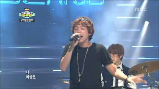 Cover images FT ISLAND - I wish, FT아일랜드 - 좋겠어, Show Champion 20121002