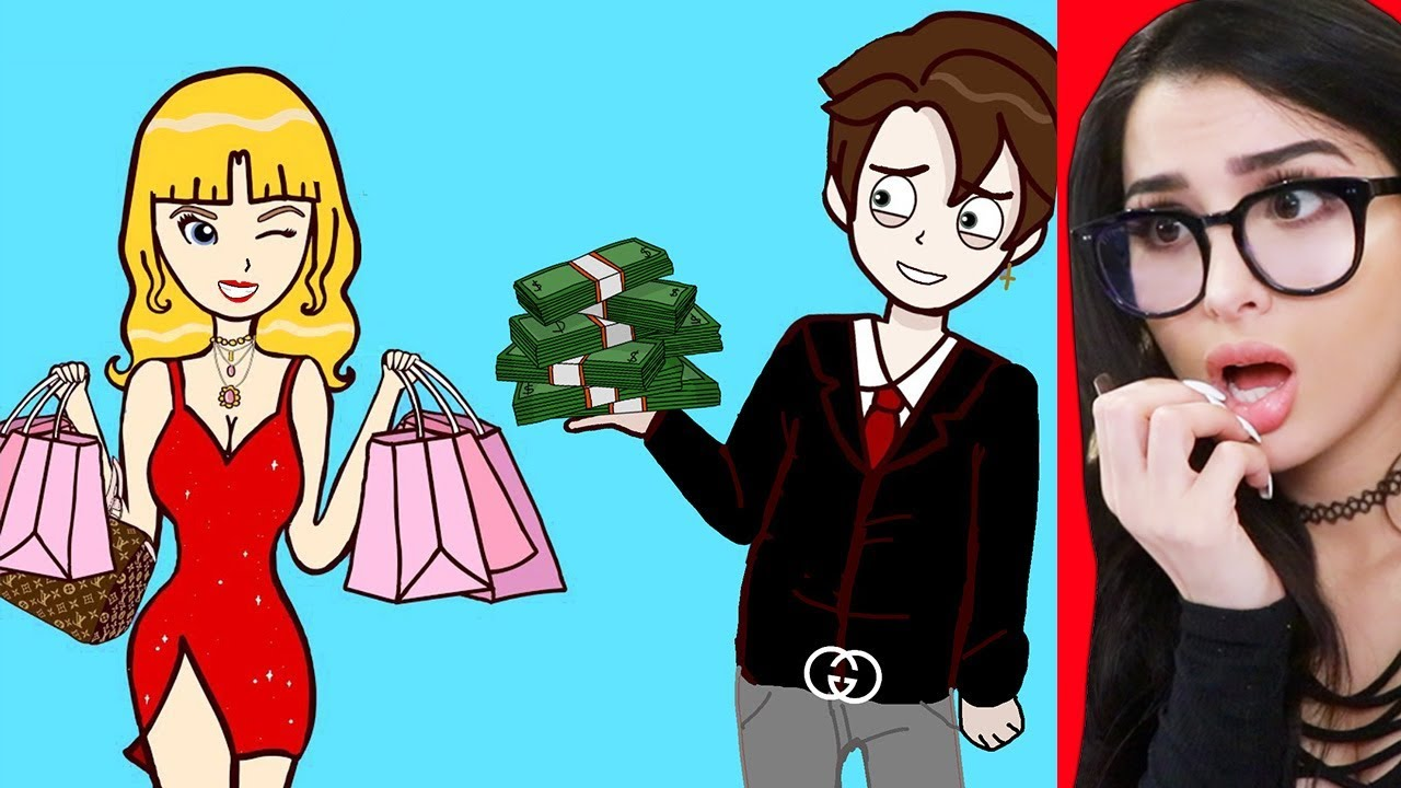 My Girlfriend Is A GOLD DIGGER (Animated Story Time)