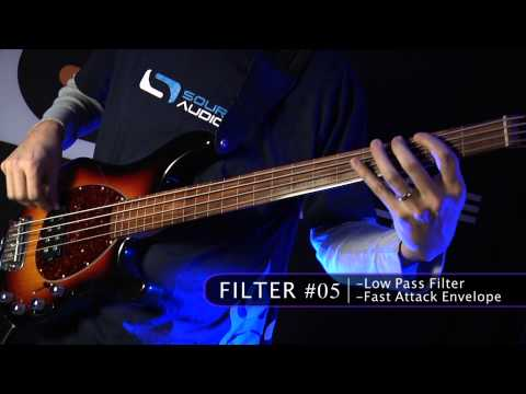 Soundblox 2 Manta Bass Filter: Effects Pedal Demo