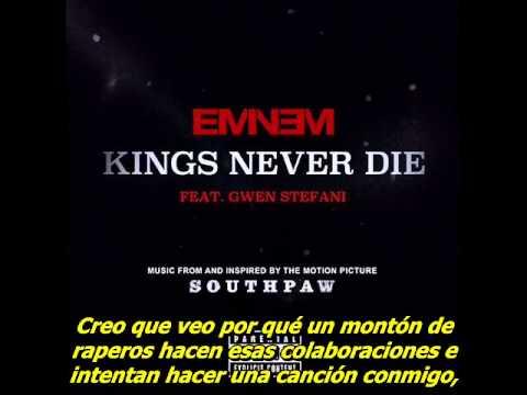 Eminem - Kings Never Die (Subtitulado al español) (Audio original)