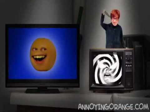 annoying orange death mike myers attack haunted tv youtube. Black Bedroom Furniture Sets. Home Design Ideas