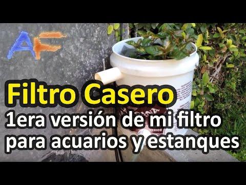 Filtro con vortex de estanque acuario para goldfish 2 for Estanque casero para peces