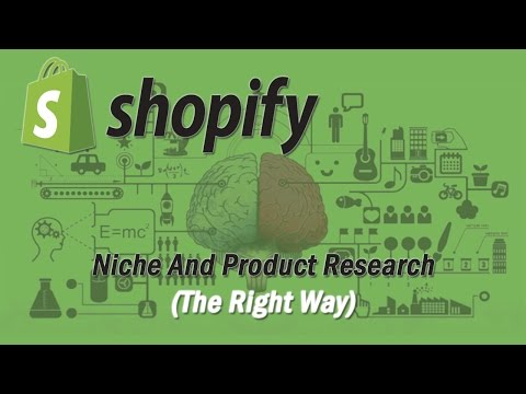 Shopify Niche and Product Research