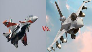 The Indian Sukhoi Su-30 MKI vs.Pakistani F-16 Fighting Falcon