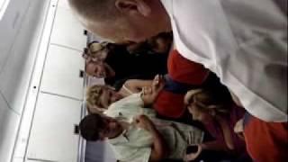 ИЛ 96 АГАДИР МОСКВА 30 июня 2009 года паника на борту 2