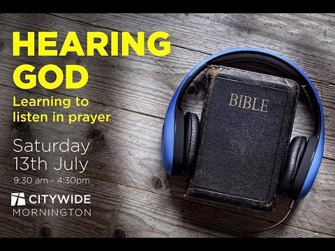 Hearing God course - Introduction