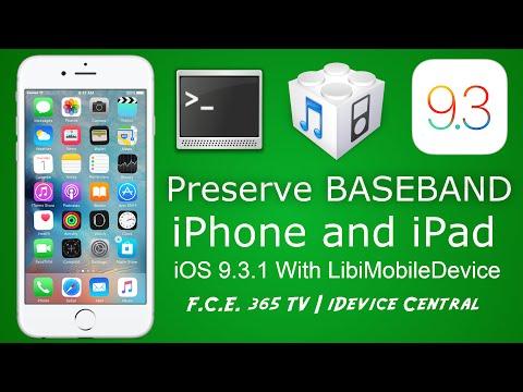 IOS 9.3.1 - Restore IPhone Without Baseband Update Using LibiMobileDevice