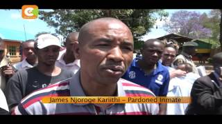 Long serving inmates at Kamiti walk out prison gates to a new life