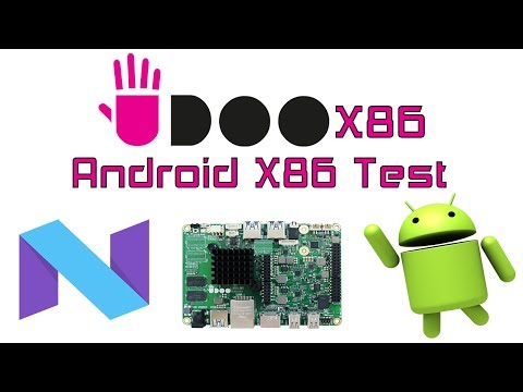 Udoo X86 Android X86 7.1.2 Test