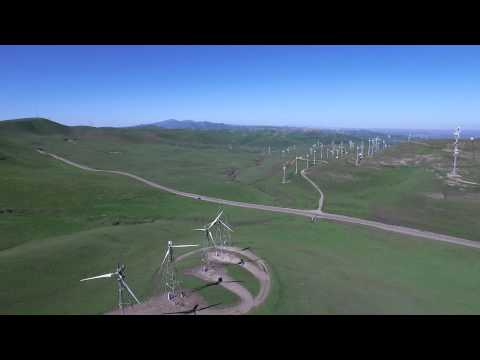 Altamont Pass with DJI Inspire 1