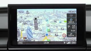 Audi A6 - MMI Navigation plus