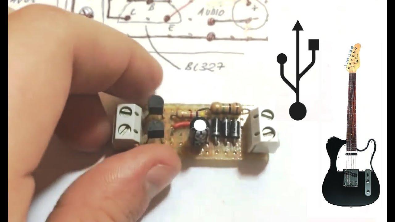 Circuito Bluetooth Casero : Como hacer un mini amplificador de sonido usb youtube