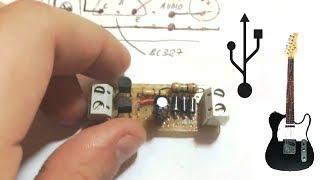 Como hacer un mini amplificador de sonido USB