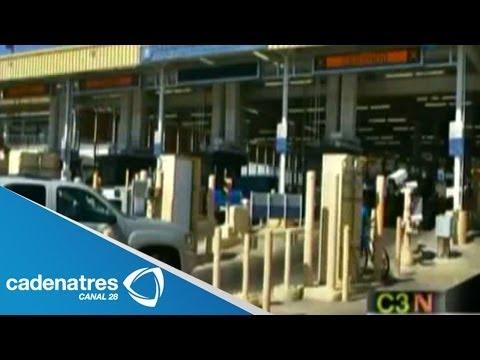 SEMAR instala equipo de rayos X en aduana de Nuevo Laredo, Tamaulipas