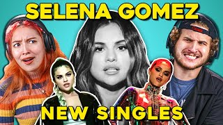 Adults React To Selena Gomez - New Songs (Lose You To Love Me, Look At Her Now)