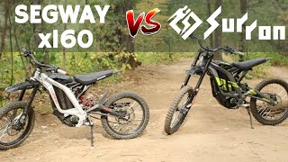Sur Ron vs Segway x160 Comparison!