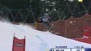 Bode Miller Takes Lead in Super-Combined