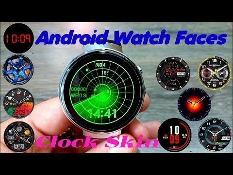 Установка циферблатов на смарт часы! Android Watch Faces!