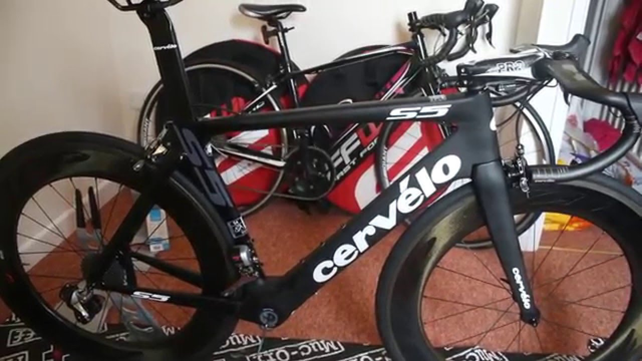 Cervelo S5 Project Build and First Look - YouTube