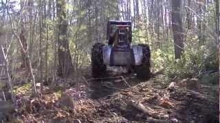 John Deere 540D Skidder - Logging