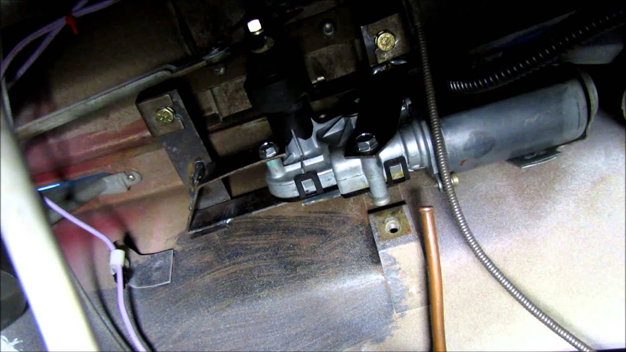 55 Chevy truck-electric wiper motor - YouTube