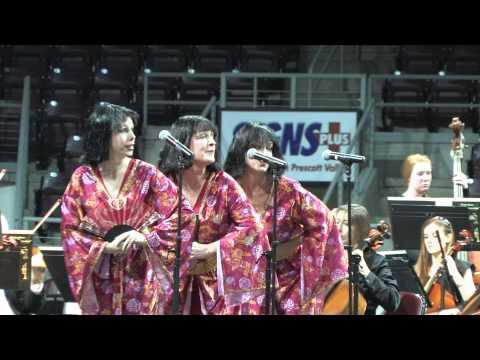 2012 Music Memories Concert with the Prescott Pops Symphony Orchestra in Prescott Valley, AZ