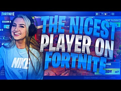 I found the NICEST player in random duos (pretending to be a noob) | Fortnite Battle Royale