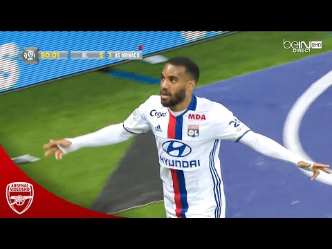 The Day Lacazette Single-handedly Took Lyon Into CL