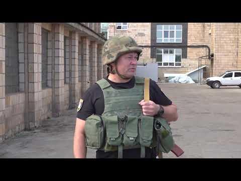Поліція Луганщини: 24.05.2019_На Луганщині поліцейських перевірили на злагодженість та боєготовність