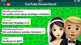 YouTuber reagieren auf Bibis Verlobung! 😳😂