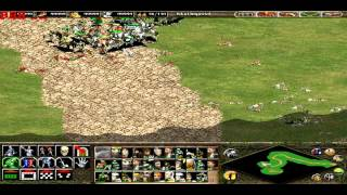 Age of Empires 2: The conquerors PC - Custom Map - Heroes vs Soldiers