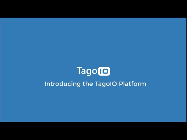 TagoIO | Getting Started