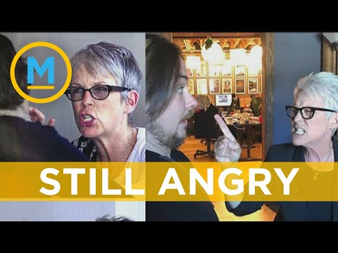 Jamie Lee Curtis Recreates Infamous Angry Face Pictures Almost A Decade Later | Your Morning