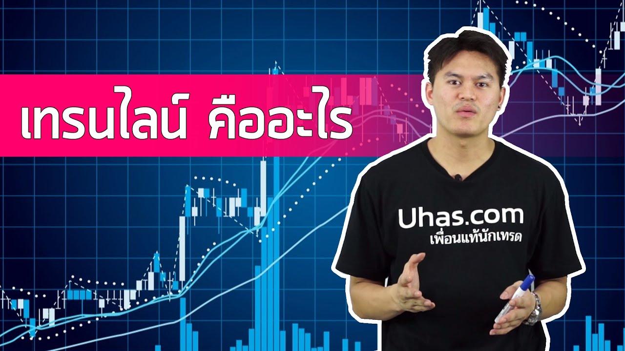 เทรนไลน์ (Trend Line) คืออะไร – การเงินวันละคำ EP. 3