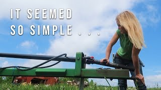 Servicing the John Deere Mower Conditioner: PTO U Joint from HE11 (Video 1 - The Search Continues)