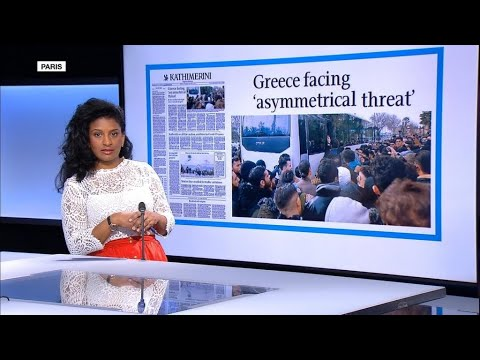 'Greece is not a bulwark': Tensions with Turkey play out in the papers