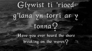 Y Forforwyn - Gwyneth Glyn (geiriau / lyrics)