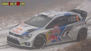 WRC Rallye Monte Carlo 2014 - Crash & Show [HD]