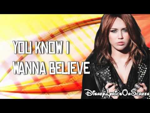 Miley Cyrus - Who Owns My Heart (Lyrics On Screen) HD