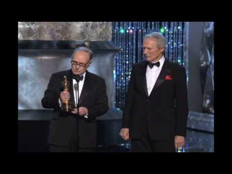 Ennio Morricone receiving an Honorary Oscar®