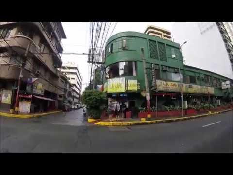 Morning Walk Steets of Ermita Manila Philippines