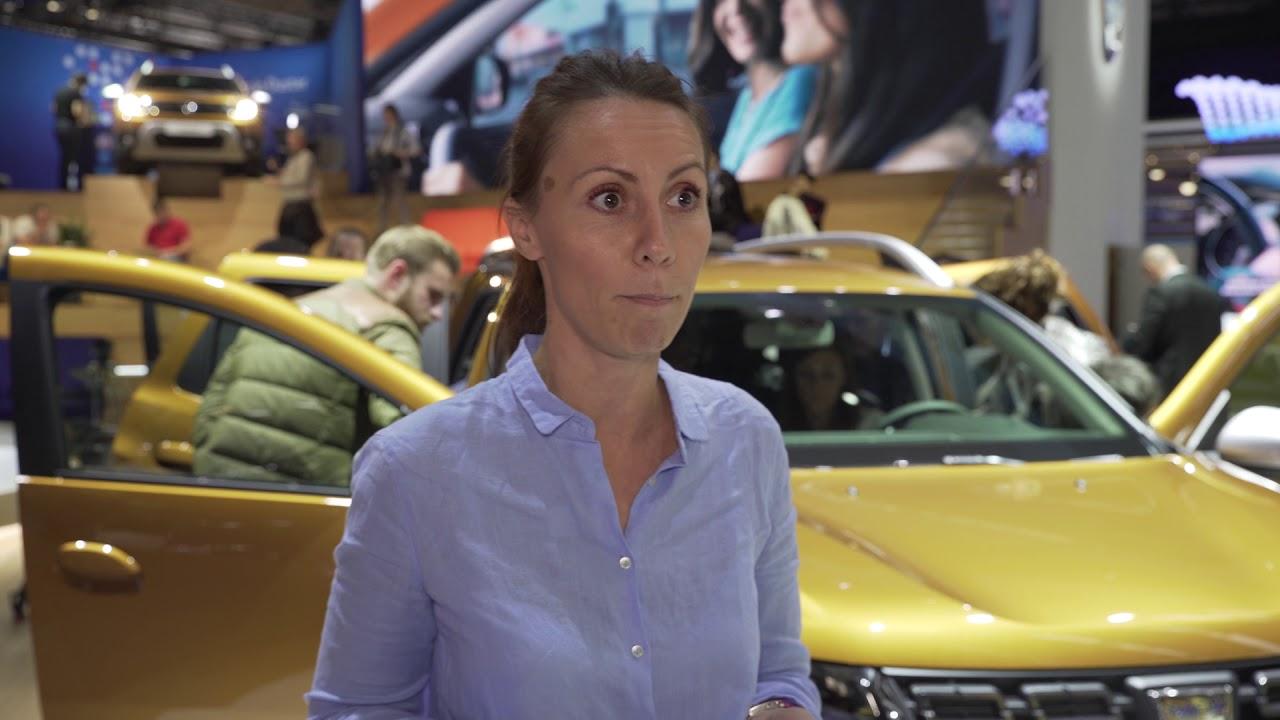 Salonul Auto de la Frankfurt 2017: Interviu cu Andreea Guinea, Duster Marketing Product Manager