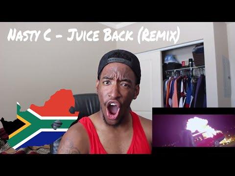 Nasty C - Juice Back Remix feat. Davido, Cassper Nyovest (REACTION)